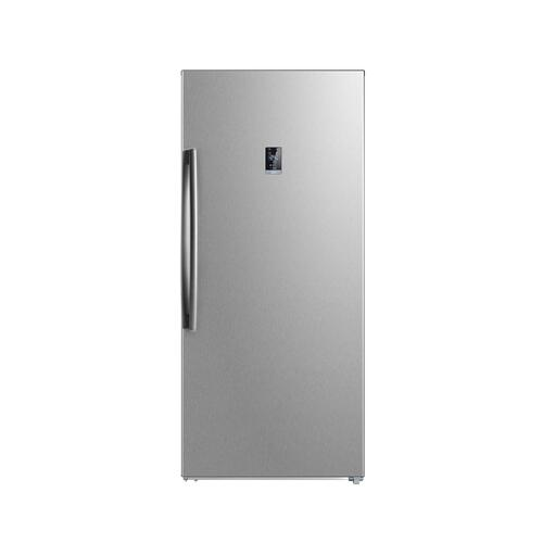 21 Cu. Ft. Convertible Upright Freezer, Stainless Steel