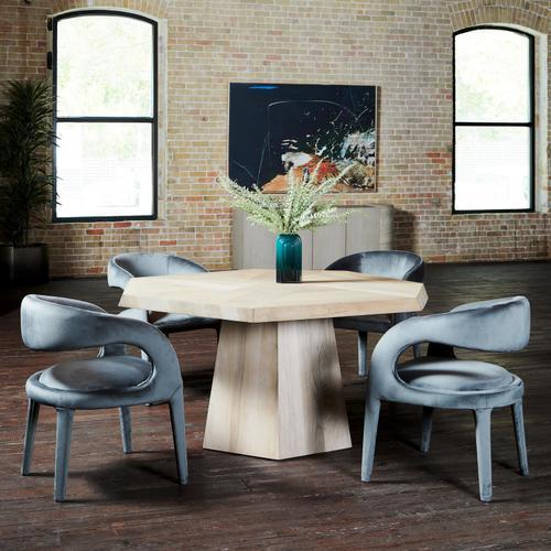 Ashen Walnut Finish Brooklyn Dining Table