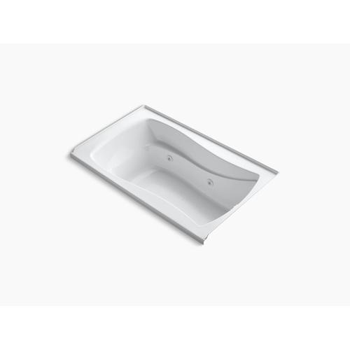 "Dune 60"" X 36"" Alcove Whirlpool Bath With Bask Heated Surface, Integral Flange and Right-hand Drain"