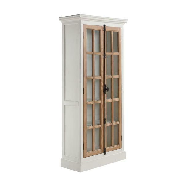 See Details - Two-tone Curio Cabinet