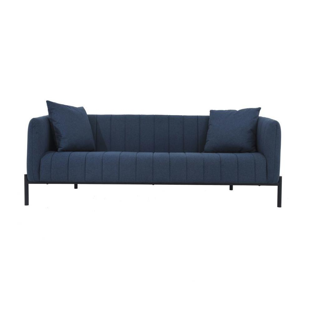 Jaxon Dark Blue Sofa