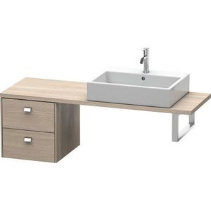 Low Cabinet For Console Compact, Pine Silver (decor)