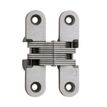 Model 208SS Stainless Steel Invisible Hinge Satin Stainless Steel