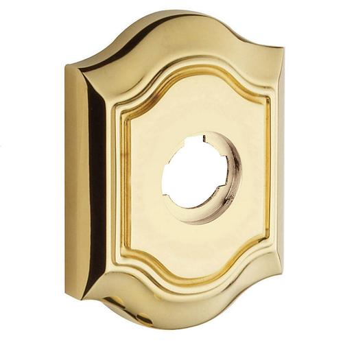 Baldwin - Non-Lacquered Brass R027 Bethpage Rose