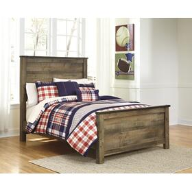 Trinell Full Panel Bed Brown