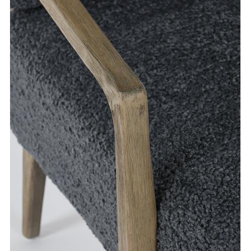 Classic Home - Felipe Accent Chair Dark Blue