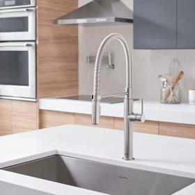 Studio S Semi-Pro Kitchen Faucet  American Standard - Stainless Steel