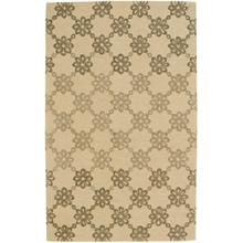 Daisy Chain Dusty Yellow Hand Tufted Rugs