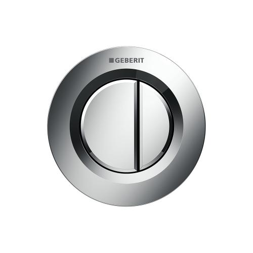 Type 01 Remote flush buttons for Sigma and Omega series in-wall toilet systems Concealed installation, Sigma or Omega 2x6 in-wall systems Compatibility Polished chrome Finish