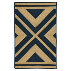 LM-Quilt Rug Navy - Rectangle - 3' x 5'