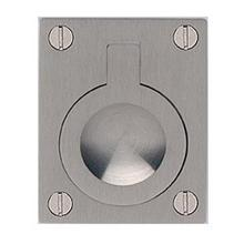 Product Image - Rectangular Drop Ring in US15 (Satin Nickel Plated, Lacquered)