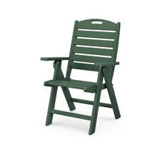 View Product - Nautical Highback Chair in Green