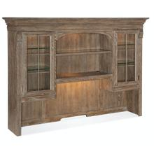 Home Office Sutter Credenza Hutch