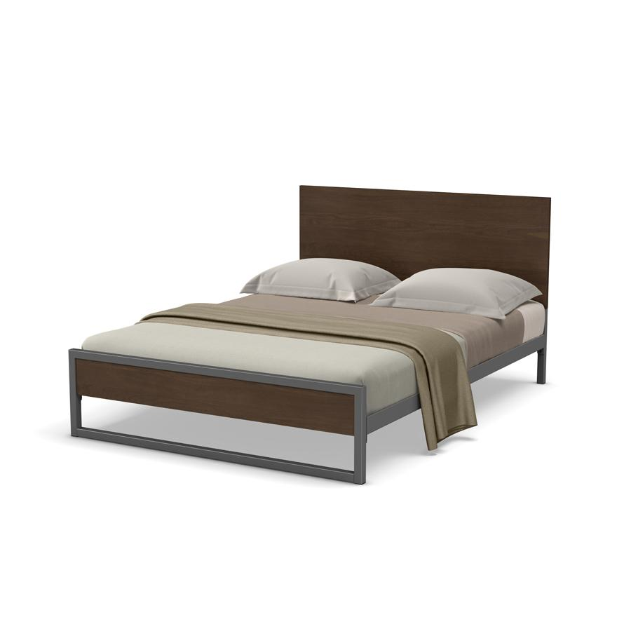 Lidgie Regular Footboard Bed - King