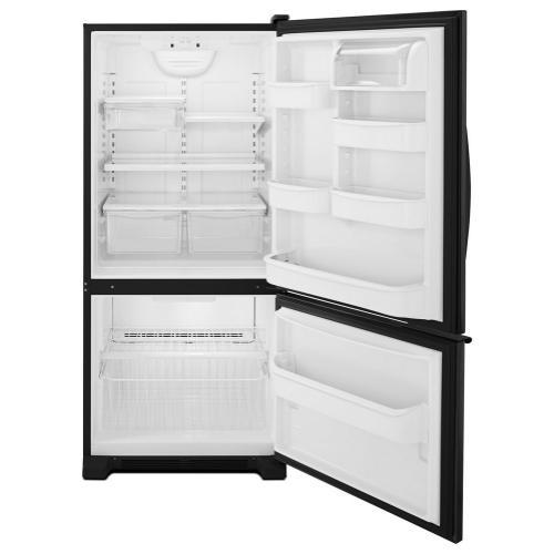 Whirlpool 19 cu. ft. Bottom-Freezer Refrigerator with LED Lighting