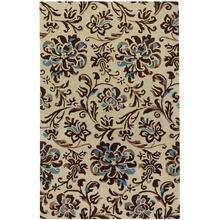 Monte Carlo Cream Chestnut Hand Tufted Rugs