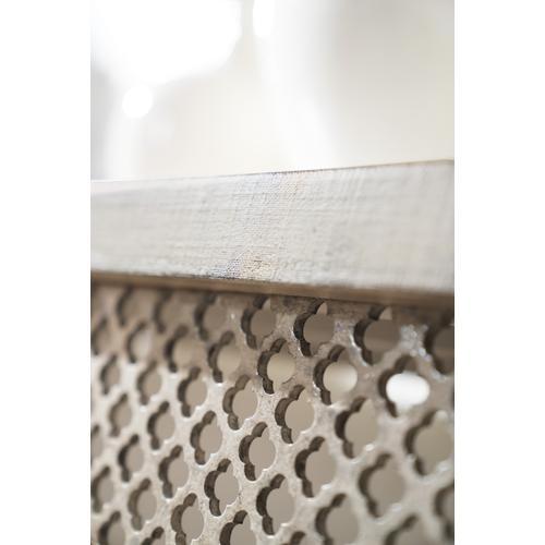 Hooker Furniture - Boheme Belvue Linen Wrapped Console