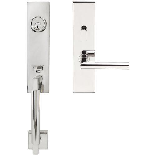 "Inox - NY Handleset Tubular Frankfurt Entry 2-3/8"" 32 RH"