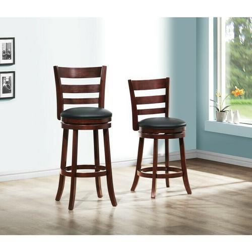 Homelegance - Swivel Pub Chair