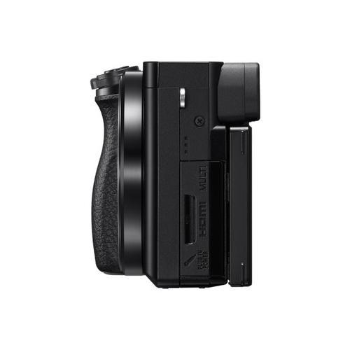 Sony - Alpha 6100 APS-C Interchangeable Lens Mirrorless Camera kit