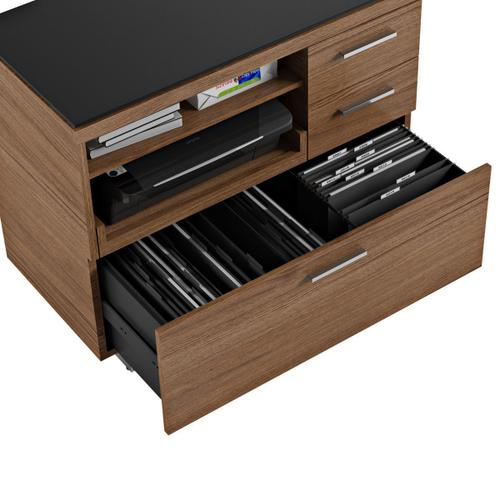 Multifunction Cabinet 6017 in Natural Walnut