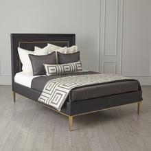 See Details - Ellipse Queen Bed-Black