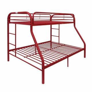ACME Tritan Twin/Full Bunk Bed - 02053RD - Red