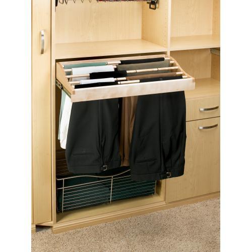"Rev-a-shelf - Rev-A-Shelf - CWPR-3014-1 - 30"" Pants Rack Organizer"