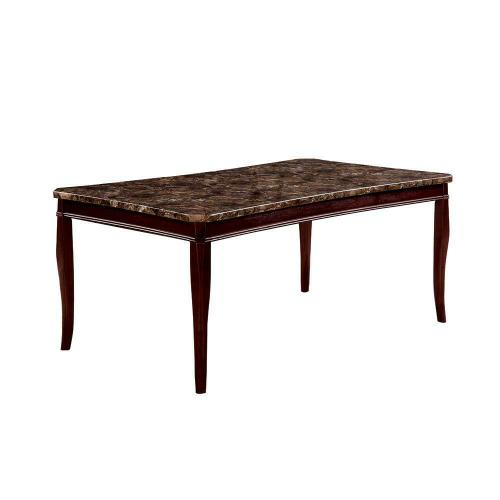Cornett Transitional Dark Brown Dining Table