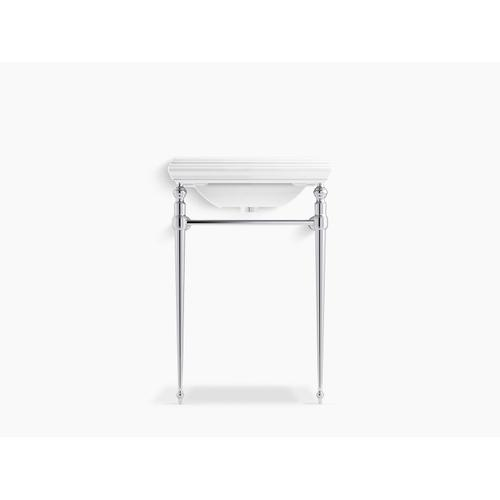 Polished Chrome Console Table Legs for K-2239 Memoirs Sink
