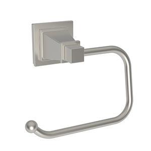 Satin Nickel - PVD Open Toilet Tissue Holder