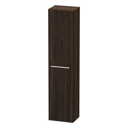 Duravit - Semi-tall Cabinet, Brushed Walnut (real Wood Veneer)