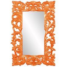 View Product - Augustus Mirror - Glossy Orange