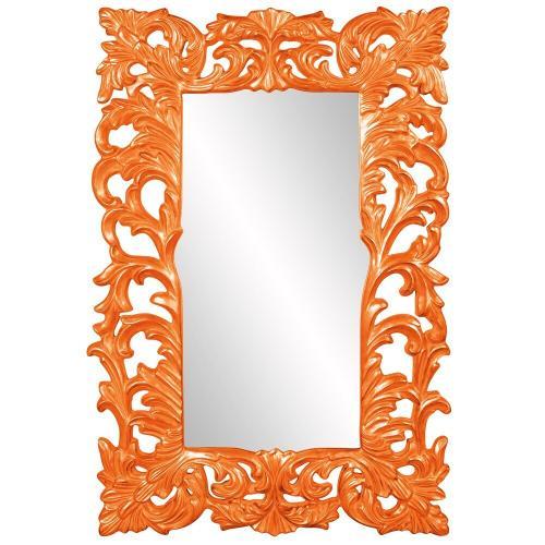 Howard Elliott - Augustus Mirror - Glossy Orange
