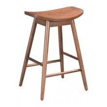 Trinity Counter Stool Walnut (set Of 2)