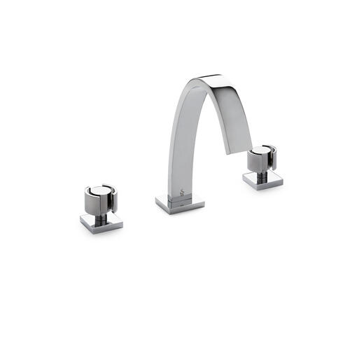 English Silver Aqueduct with Eclipse Knob