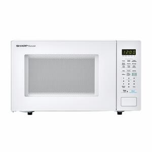 Sharp Appliances1.4 cu. ft. 1000W Sharp White Countertop Microwave Oven