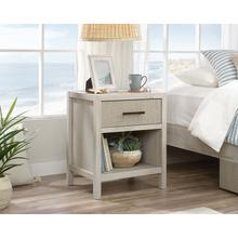 See Details - Single Drawer Night Stand with Open Shelf