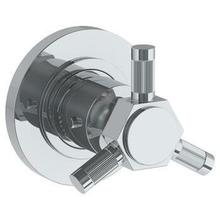 """See Details - Wall Mounted Thermostatic Shower Trim, 3 1/2"""" Dia."""