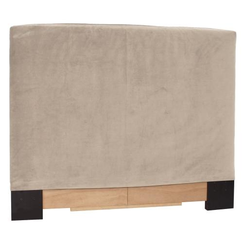 FQ Slipcovered Headboard Bella Sand (Base and Cover Included)