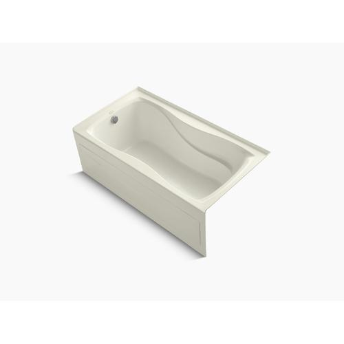"""Biscuit 60"""" X 32"""" Alcove Bath With Integral Apron and Integral Flange and Left-hand Drain"""