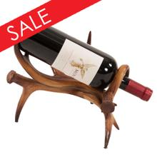 Faux Antler Wine Holder