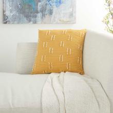 """Kathy Ireland® Home Pillow Ss300 Yellow 18"""" X 18"""" Throw Pillow"""