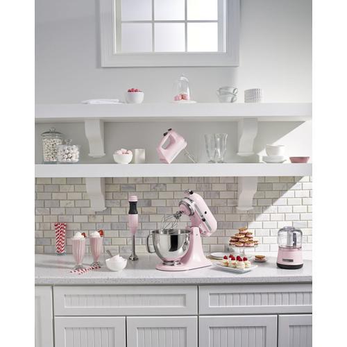 KitchenAid - 2-Speed Hand Blender Pink