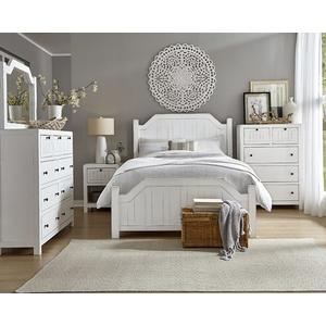 Queen Post Bed - Cotton Finish