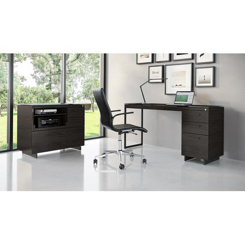 BDI Furniture - Sequel 20 6114 3 Drawer File Cabinet in Charcoal Black
