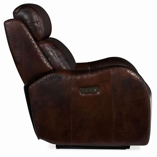 Living Room Chambers Power Recliner w/ Power Headrest