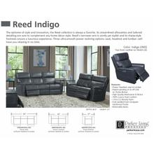 See Details - REED - INDIGO Power Reclining Collection