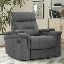 DIESEL MANUAL - COBRA GREY Manual Glider Recliner