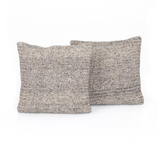 "20x20"" Size Esmae Wool Pillow, Set of 2"
